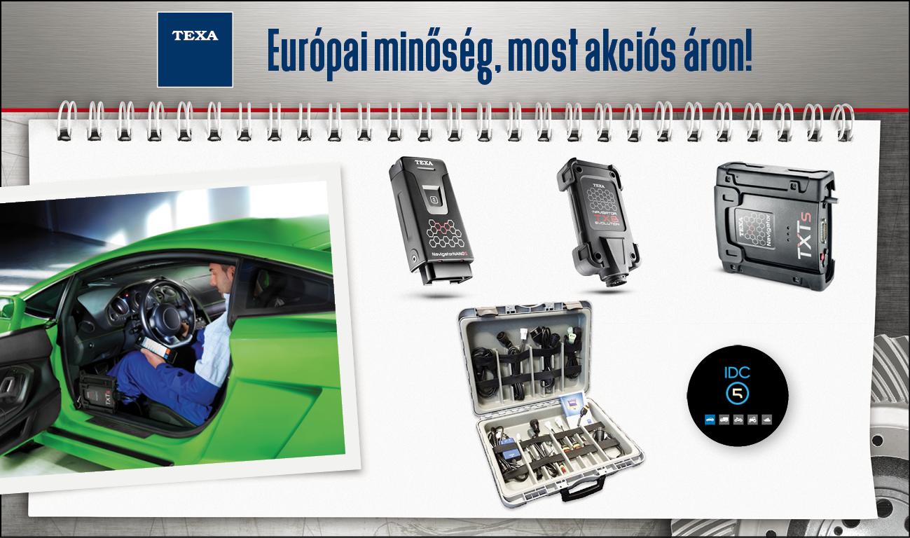 fdecdd07e1 Immár negyed évszázada, 1992 óta fejleszti diagnosztikai eszközeit a TEXA.  Ezért mára a világ egyik vezető diagnosztikai készülékeket gyártó  vállalataként ...